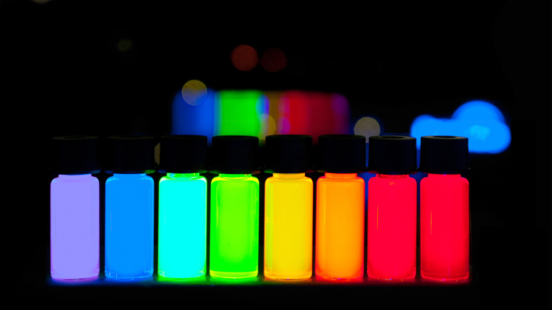 Quantum dots that light up TVs could be used for brain